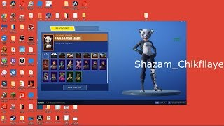 How to Code Skins in Fortnite like happy power tutorial | Chikfilaye