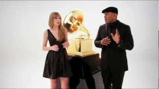 Beatboxing with Taylor Swift and LL - The 54th Annual Grammy Awards