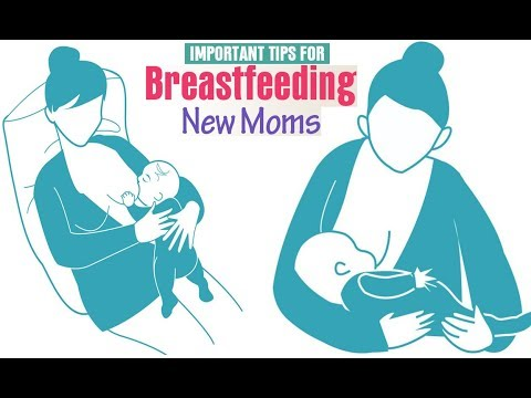 Important Breastfeeding Tips for New Moms