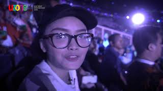 Download lagu Diari Hani Eps 2- Bikin MERINDING! Nonton Opening Ceremony Asian Games    uzone.id