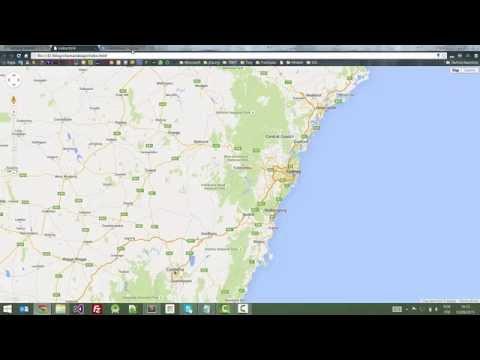 Configuração da API do Google Maps