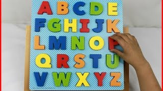 The ABC Puzzle Learning letters of the Alphabet