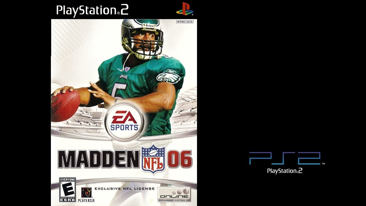 Madden NFL 06 Sony Playstation 2 Steelers vs Seahawks Gameplay The PS2 Files  YouTube