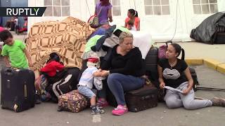 Venezuelan migrants rush to Peru border to avoid new restrictions