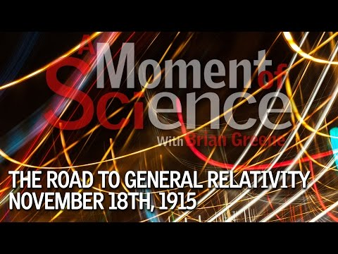 The Road to General Relativity Nov. 18th, 1915