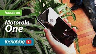Motorola One - Hands-on Tecnoblog