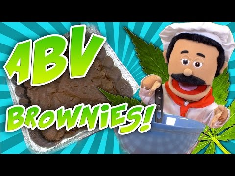 ABV Weed Cannabutter Brownies
