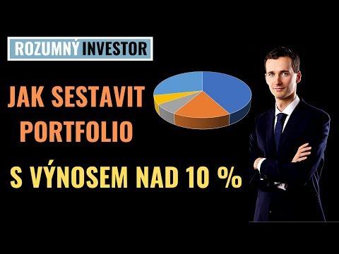 Jak vytvořit investiční portfolio s výnosem 10+% | Diverzifikace a Ochrana před finanční krizí