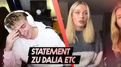 STATEMENT zum DENISE STREAM Teil 2 | Meinung zu DALIA? | Jonas Stream Highlights