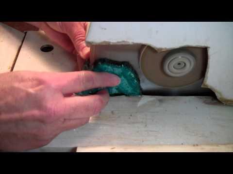 Lapidary: Cutting a Soft Rock Slab Freehand
