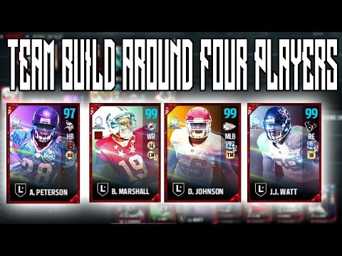 BUILDING A TEAM AROUND THE FOUR NEW PRO BOWL LEGENDS | Madden 17 Ultimate Team