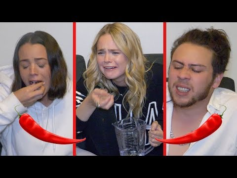 PROBANDO CHILES MEXICANOS (CHILE VS MEXICO) FT AlexXxStrecci y Connie Moll