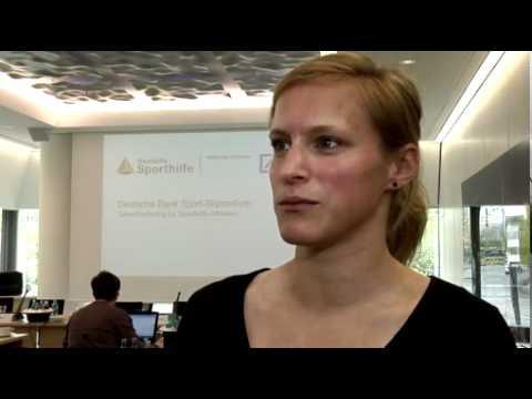 """Deutsche Bank erhöht Förderung für Spitzensportler mit eigenem """"Deutsche Bank Sport-Stipendium"""""""