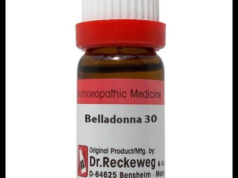 Belladonna ~ homeopathic medicines for high blood pressure with headache