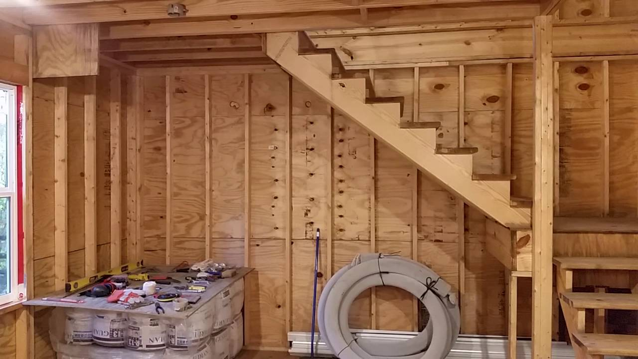 16 X 32 Two Story Shed Edlist 10 18 2016 Youtube