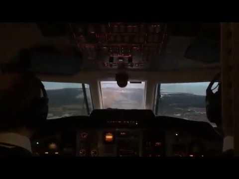 Посадка BAe Jetstream 32. Курессааре (EEKE / URE)