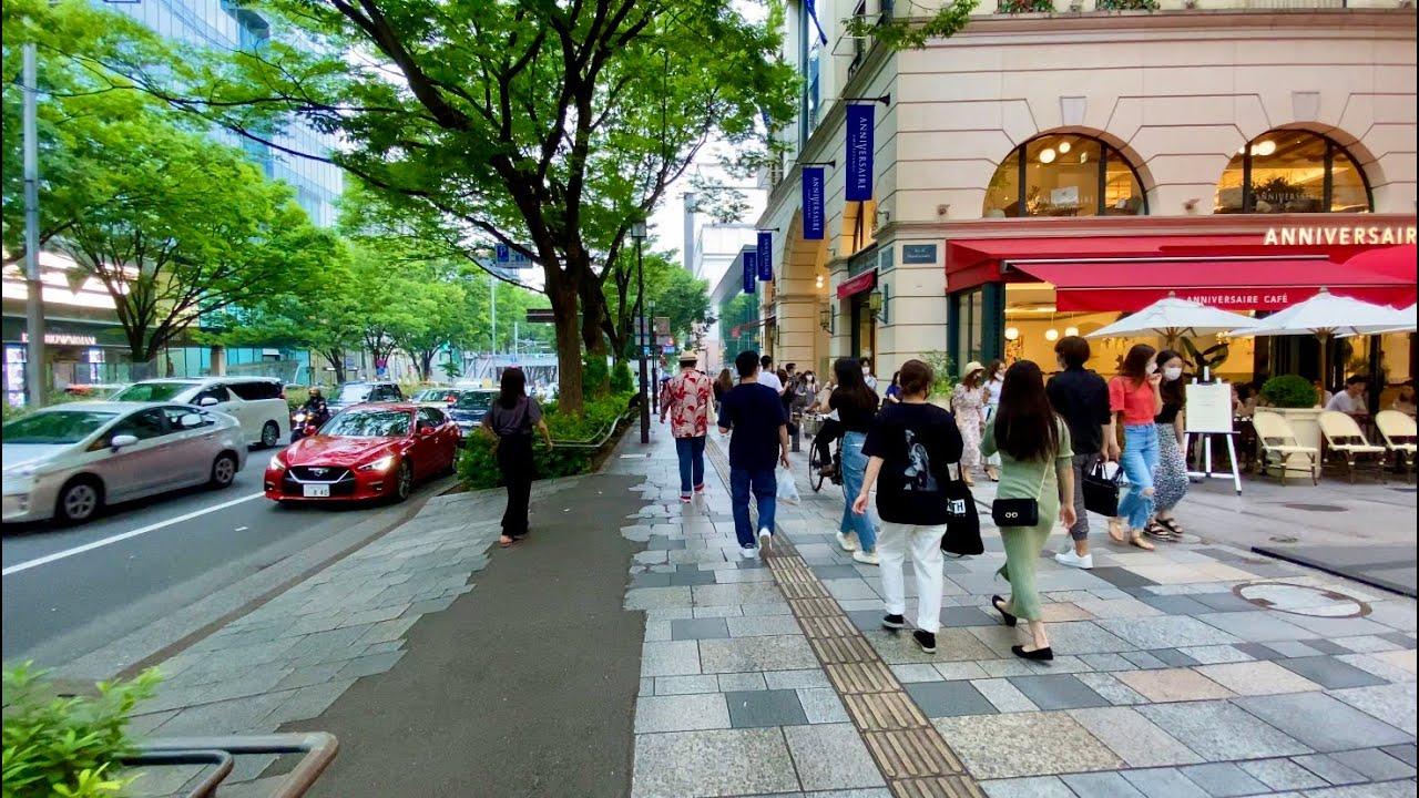 【4K】Walk on MinamiAoyama-Omotesando(南青山-表参道) at Tokyo【2020】
