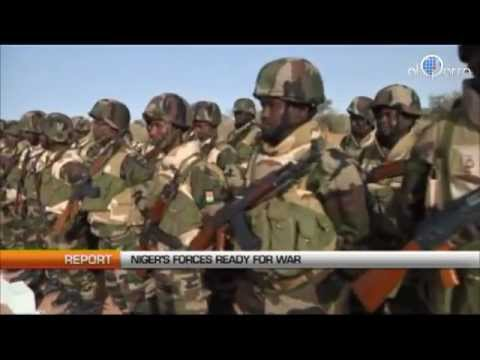 Niger: Country prepares for war