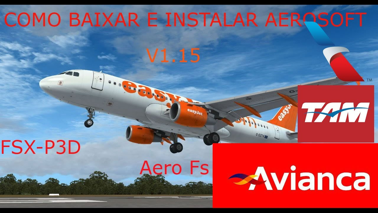 TAM FSX BAIXAR AIRBUS A320