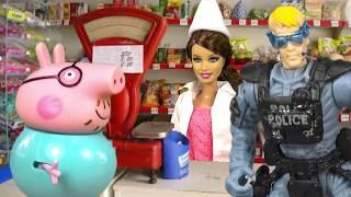 Свинка Пеппа Мультики для Детей ПАПА СВИН Новые Серии 2016 Играем вместе Peppa Pig