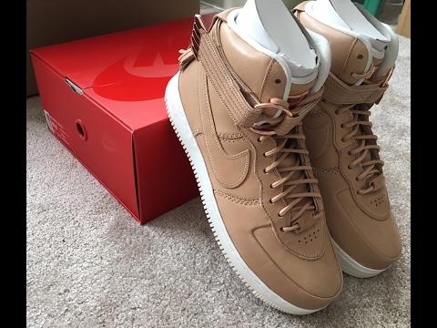 Unboxing Nike Air Force 1 Premium Vachetta Tan