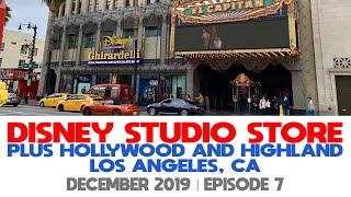 EP7   Disney Studio Store Hollywood   Pin Shopping   Hollywood and Highland