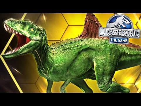 NEW CONCAVENATOR IN GAME MAX LV40    Jurassic World The Game [FHD-1080p]