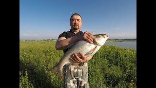 Риболовля на Исаевском верхньому озері 20 травня 2018
