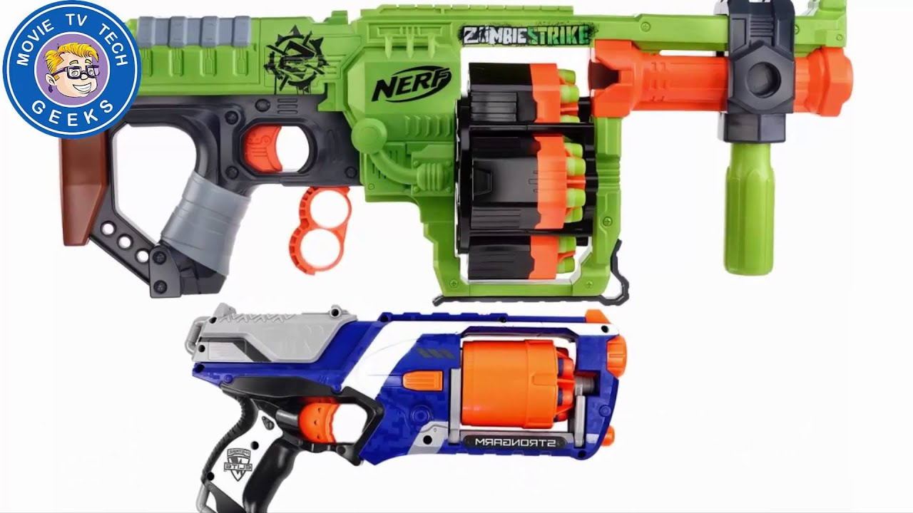 Nerf N Strike Modulus ECS 10 Blaster Review 2015 Hottest Holiday Kids Toys