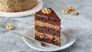 Любимый ШОКОЛАДНЫЙ торт из ДЕТСТВА ПРОСТО и очень ВКУСНО