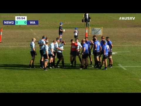 FULL REPLAY: New South Wales Schools II vs. Western Australia Schools