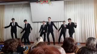Поздравление с 8 марта 10-е классы УВК 'гимназия-школа' 27