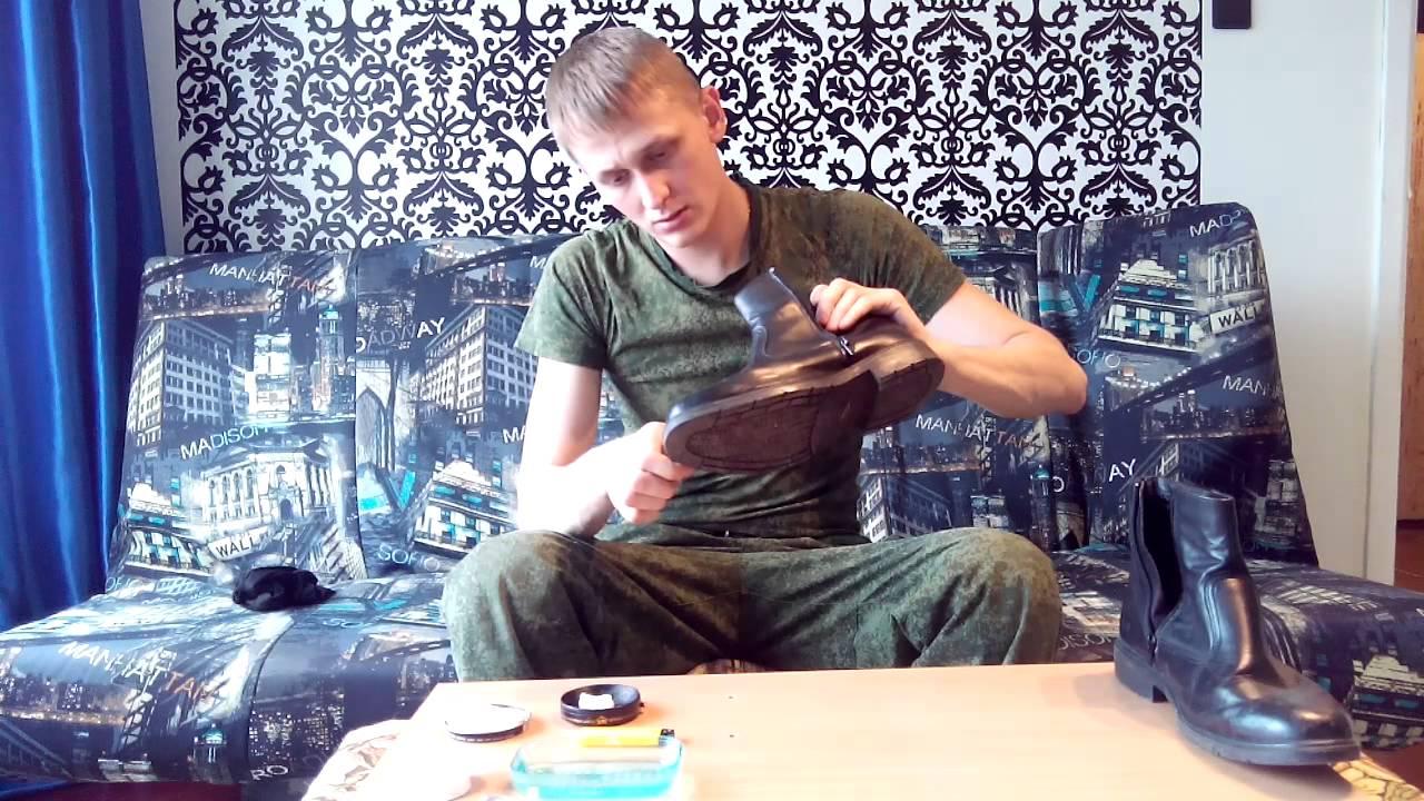 Как завязать армейские ботинки (берцы) - YouTube