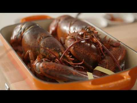 Lobster Thermidor by Chef Ludo Lefebvre