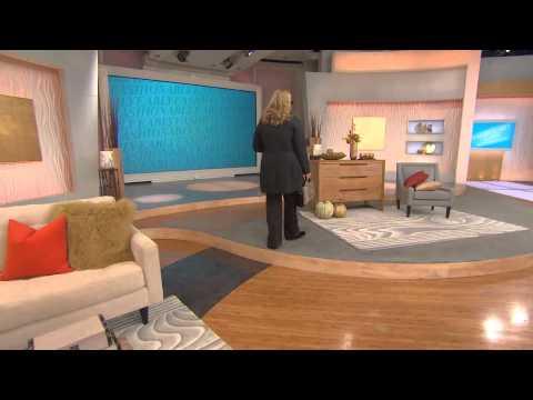 Isaac Mizrahi Live! Herringbone Coat with Faux Fur Collar with Jayne Brown