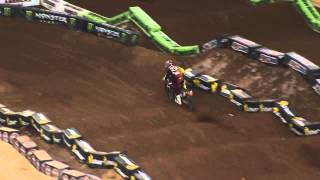 Supercross LIVE! 2013 - 2 Minutes On The Track - 450 Second Practice in Atlanta