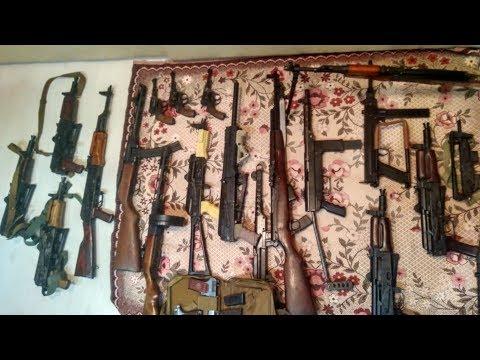Уралец смастерил на даче 37 единиц огнестрела