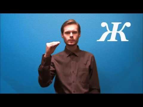 Русский жестовый язык. Урок 1.  Алфавит