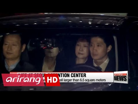 Park Geun-hye transferred to Seoul Detention Center after arrest