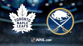 Van Riemsdyk powers Maple Leafs to 5-2 win in Buffalo