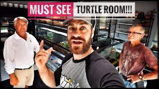 Amazing Indoor Turtle & Tortoise Room!