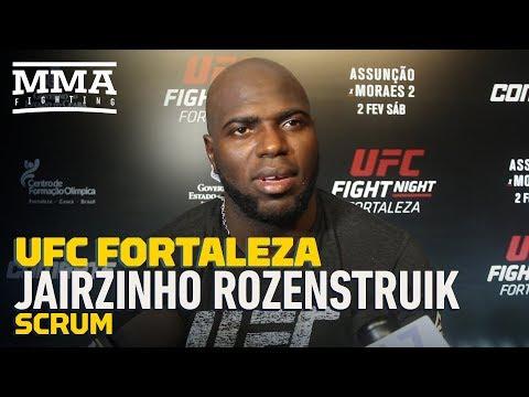 UFC Fortaleza: Jair Rozenstruik Hopes Countryman Tyrone Spong Joins Him In UFC - MMA Fighting