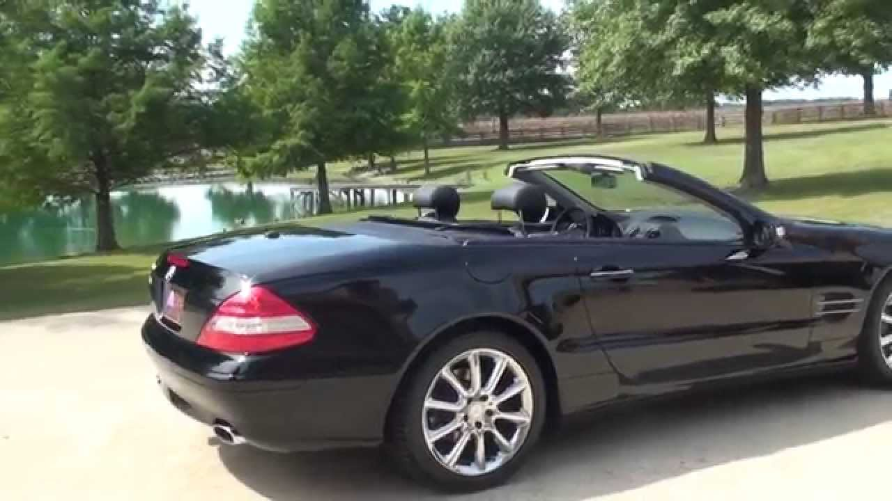 hd video 2008 mercedes sl550 convertible used for sale www. Black Bedroom Furniture Sets. Home Design Ideas