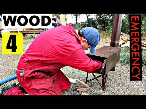 Cheapest Emergency Wood Stove That REALLY WORKS!