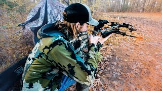 Learning To Shoot A Crossbow From A Pro Hunting Guide
