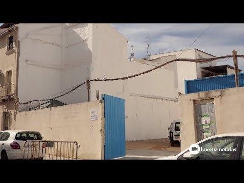 VÍDEO: El Ayuntamiento acondiciona un nuevo solar como aparcamiento en la calle Mesón