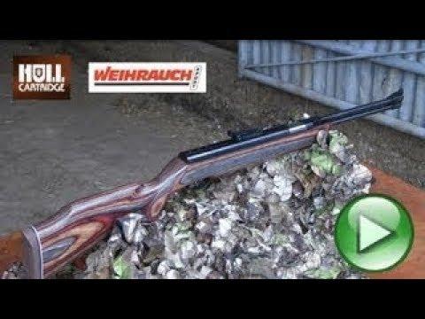 REVIEW: Weihrauch HW77 K Air Gun - Hunting Air Rifle