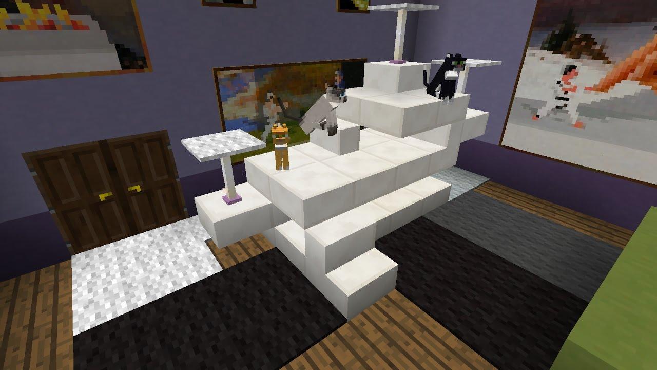 Comment Construire Un Arbre À Chat comment faire une maison pour chat minecraft