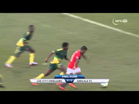2016 OFC CHAMPIONS LEAGUE | LAE CITY DWELLERS vs AMICALE FC