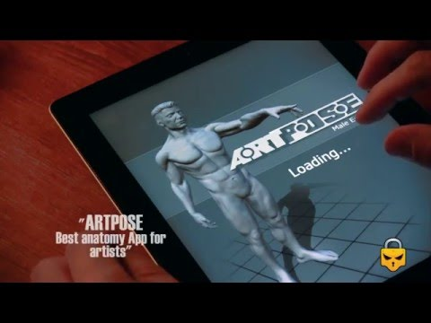 ARTPOSE Review, Best Anatomy App For Artists